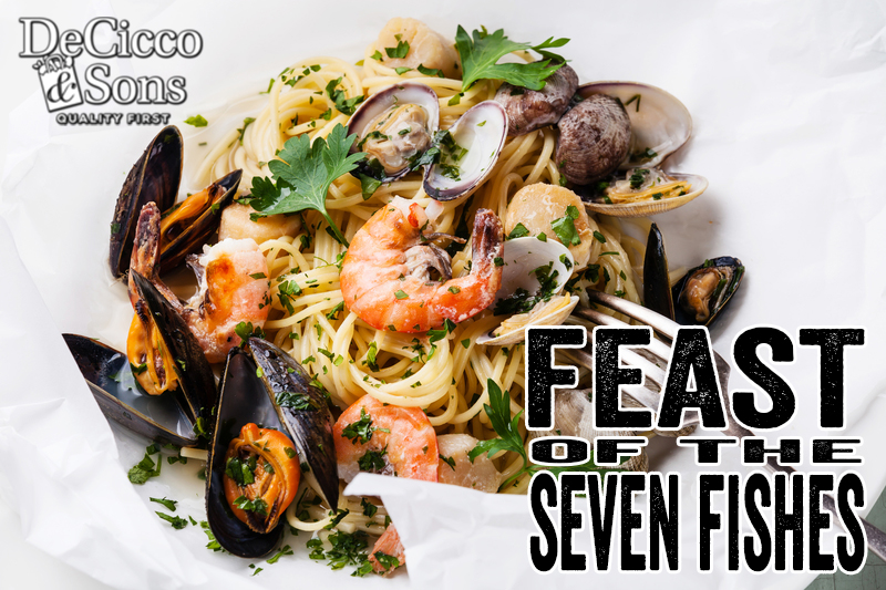 Feast of the seven fishes decicco sons for What is the feast of seven fishes