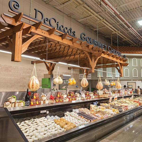 DeCicco cheese department