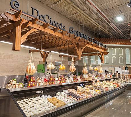 DeCiccos cheese aisle