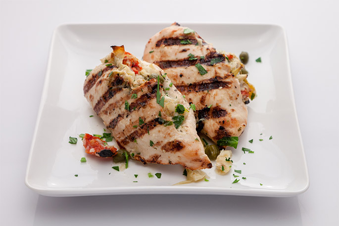 DeCicco and sons grilled stuffed chicken