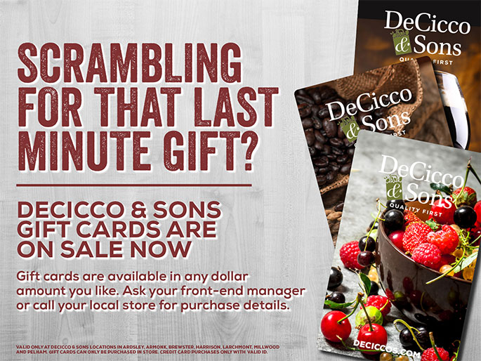 DeCicco & Sons Gift Cards