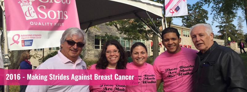 2016 Making Strides Against Breast Cancer