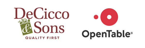 DeCicco & Sons and Open Table Logos
