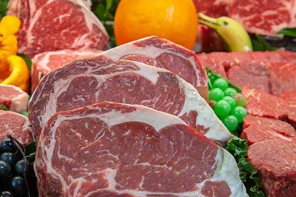 deciccos natural beef display
