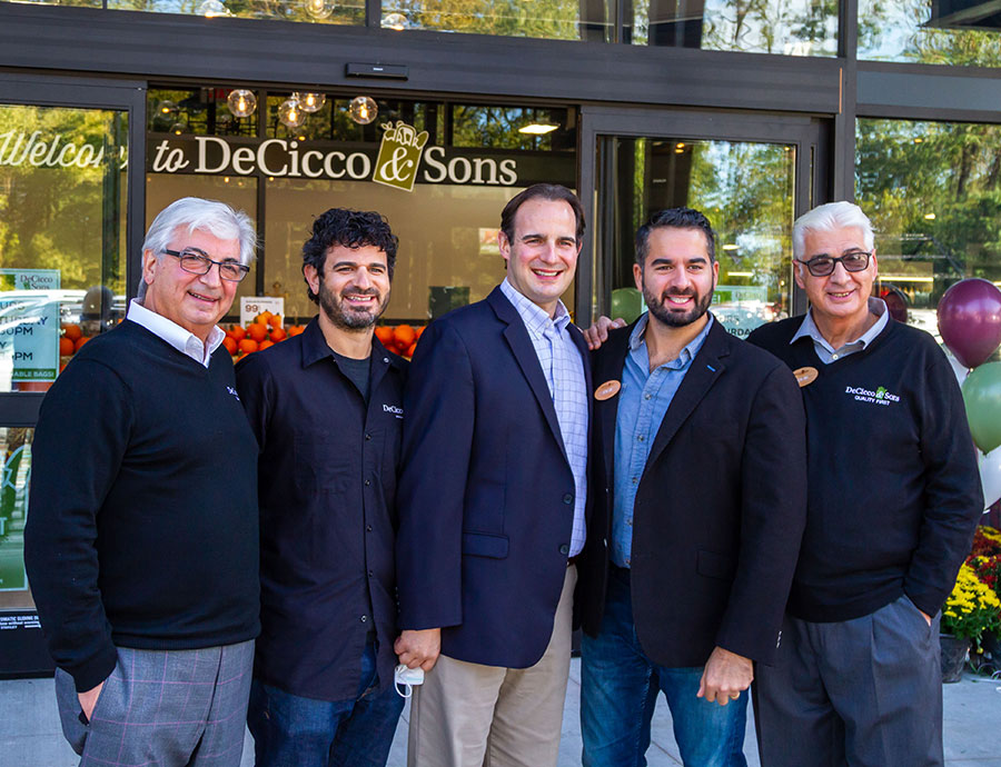 DeCicco Family at Eastchester Opening